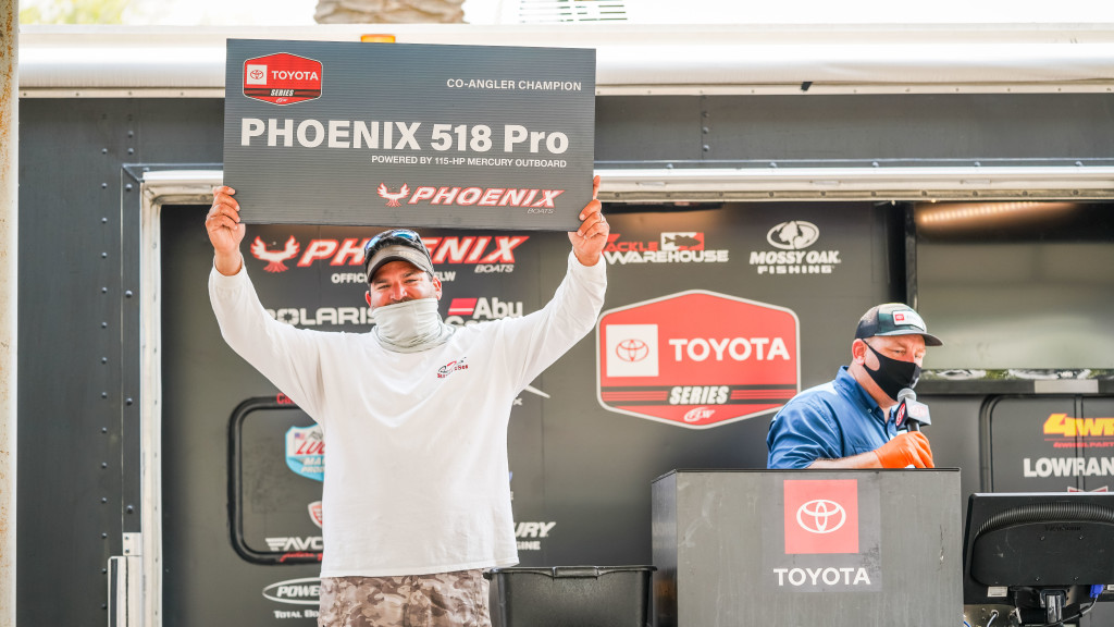 Image for Walsh Captures Co-Angler Win on Delta