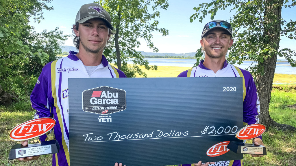 Image for McKendree University Wins Abu Garcia College Fishing presented by YETI Tournament on Mississippi River