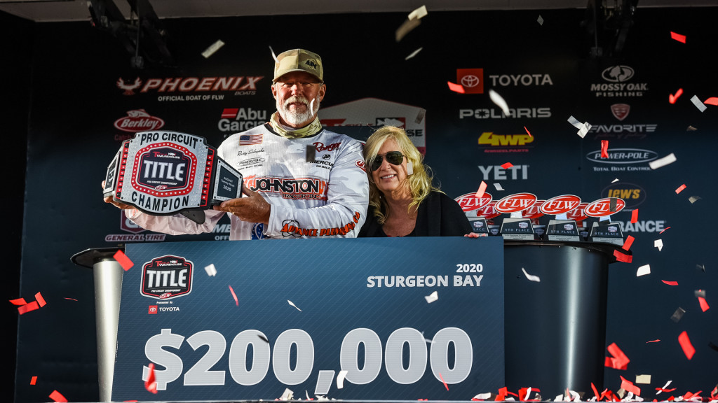 Image for California's Salewske Wins Tackle Warehouse TITLE Championship presented by Toyota at Sturgeon Bay