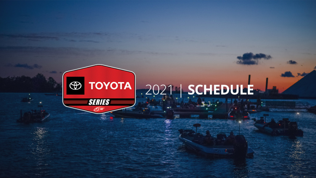 Image for Major League Fishing, FLW Announce 2021 Toyota Series Schedule