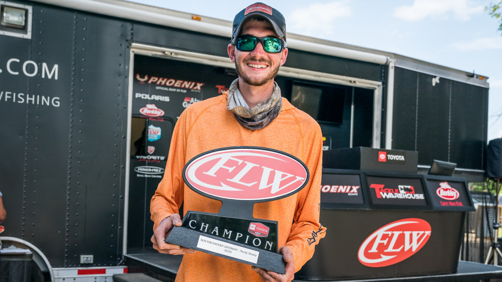 Image for Owen Takes Co-Angler Title on Neely Henry