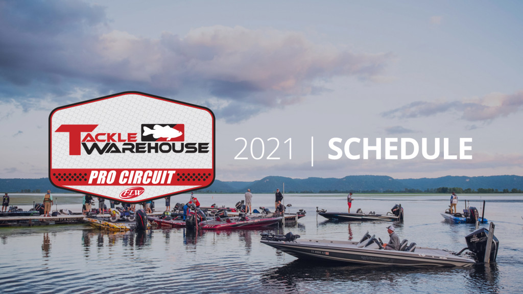 Image for Major League Fishing, FLW Announce 2021 Tackle Warehouse Pro Circuit Schedule