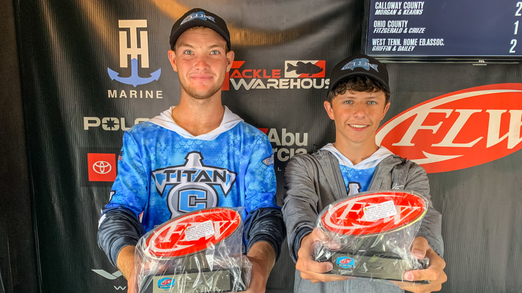 Image for Shelbyville's Martha Layne Collins High School Wins FLW High School Fishing presented by Favorite Fishing Ohio River Open