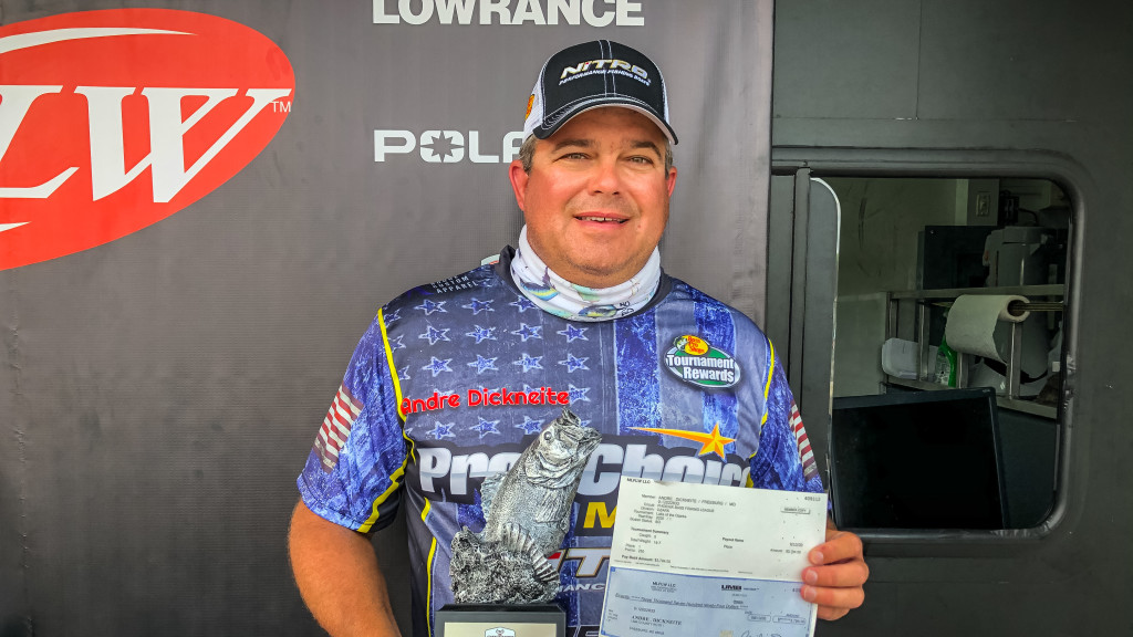 Image for Freeburg's Dickneite Earns Victory at Phoenix Bass Fishing League Tournament on Lake of the Ozarks