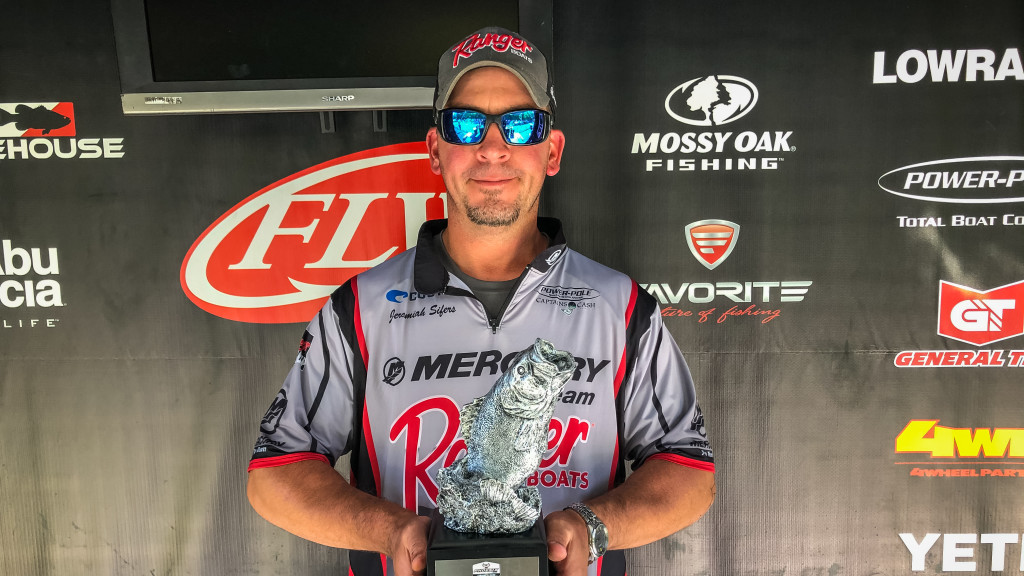 Image for Sellersburg's Sifers Wins Two-Day Phoenix Bass Fishing League Tournament on Rough River Lake
