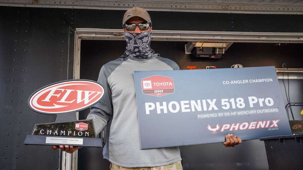 Image for Christiansen Scores Co-angler Title at Clear Lake