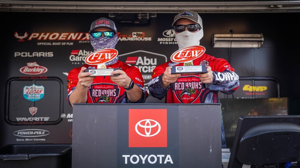 Image for Simpson University Earns Win at Abu Garcia College Fishing presented by YETI Tournament on Clear Lake