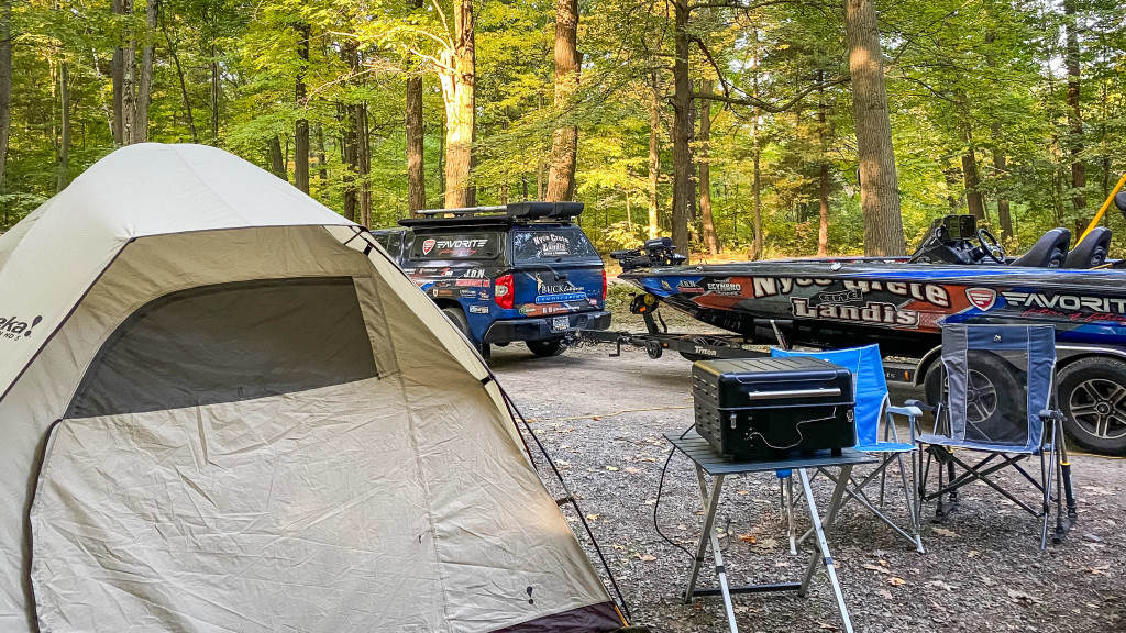 Image for Buck's Tent Camping Tips