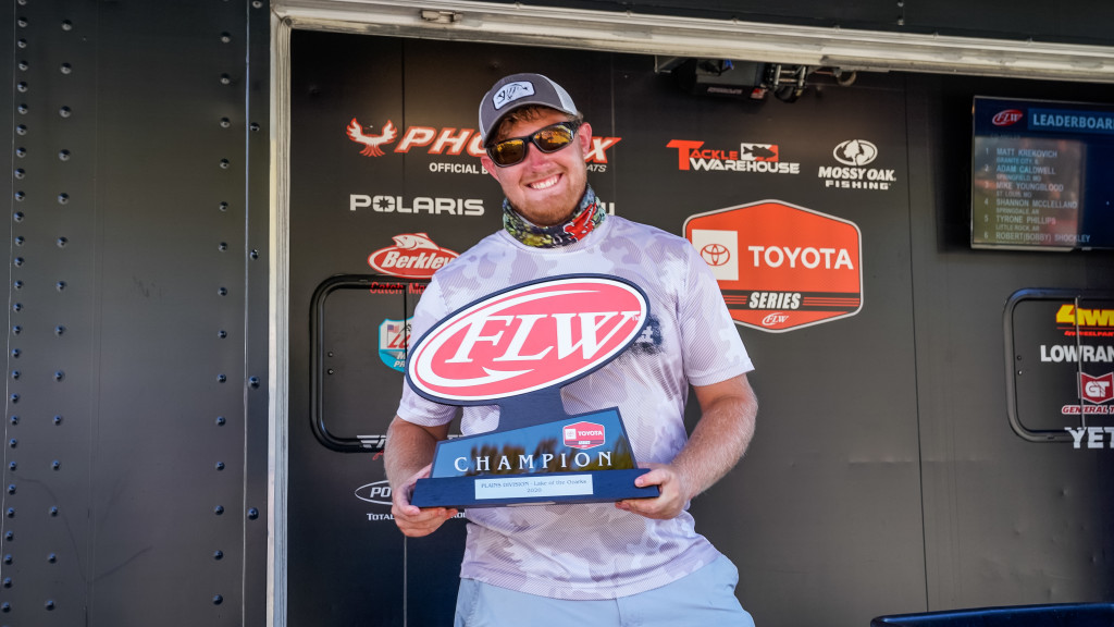 Image for Cook Wins Toyota Series Event on Lake of the Ozarks