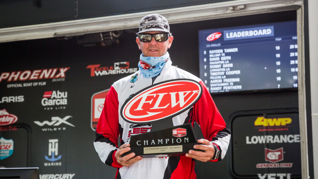 Image for Johnson Wins Toyota Series Event on Sam Rayburn