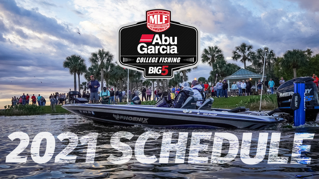 Image for 2021 Abu Garcia College Fishing Schedule