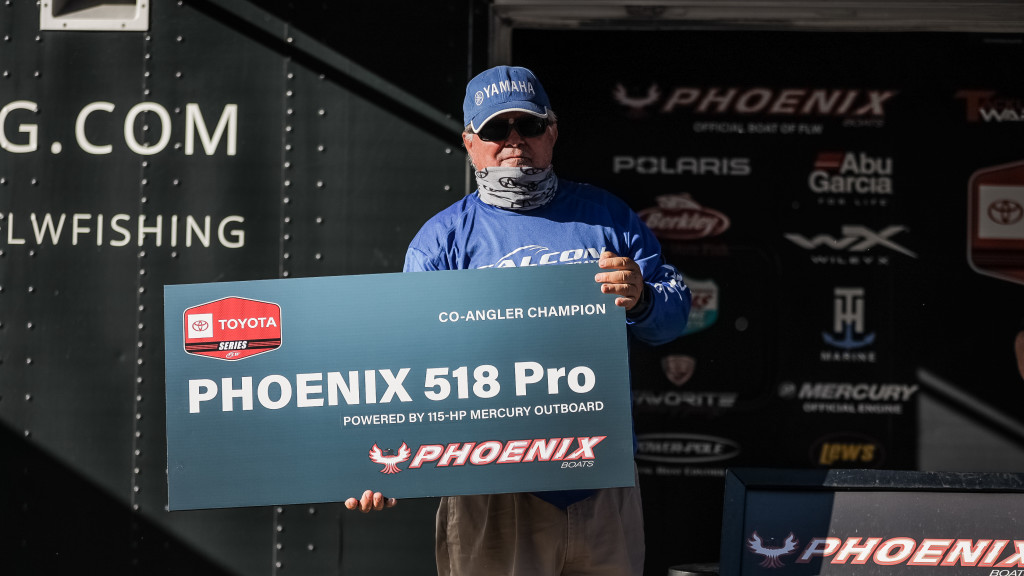 Image for Russell, 71, Earns First FLW Win