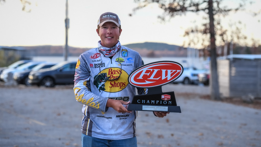 Image for Bethel University Angler Huff Wins Toyota Series Event on Table Rock Lake