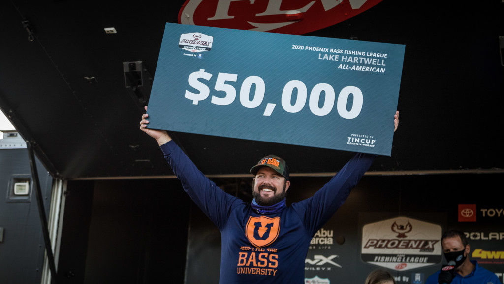 Image for Kimmel Ices Co-Angler Victory